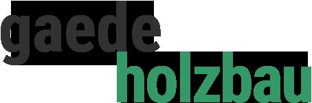 Gaede-Holzbau Logo