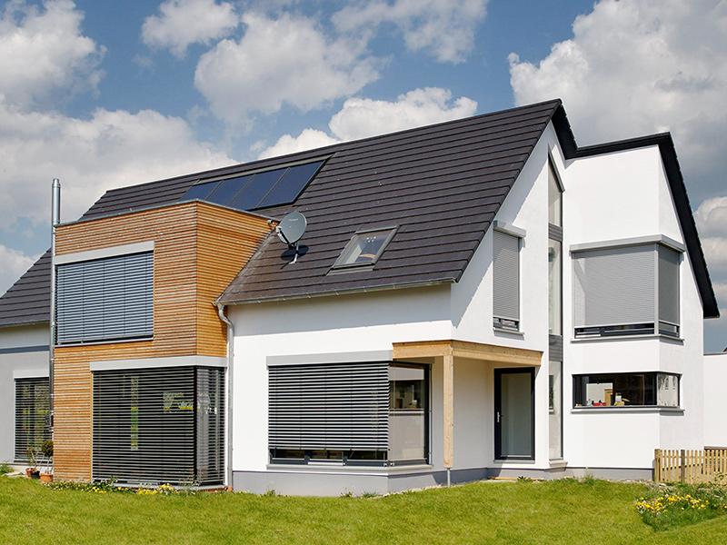 wohnhaus neubau mit gaede holzbau in kissenbr ck bei wolfenb ttel. Black Bedroom Furniture Sets. Home Design Ideas